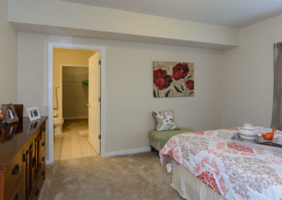 Town Village Vestavia Hills: Bedroom to Bath Room