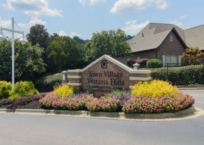 Town Village Vestavia Hills: Front Entrance Sign
