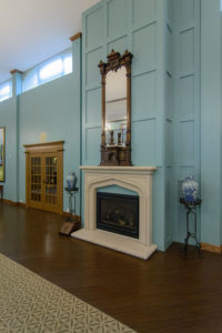 Fair Haven Retirement Community: Fireplace