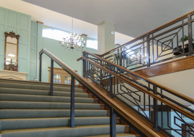 Fair Haven Retirement Community: Stairs to 2nd Floor